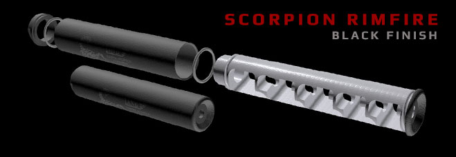 Scorpion Rimfire in Black